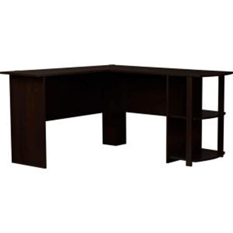ameriwood dark russet cherry l shaped desk ameriwood l shaped desk in dark russet cherry 9354303pcom