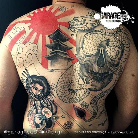 tattoo oriental samurai e gueixa tattoo nas costas foto 9101 mundo das tatuagens
