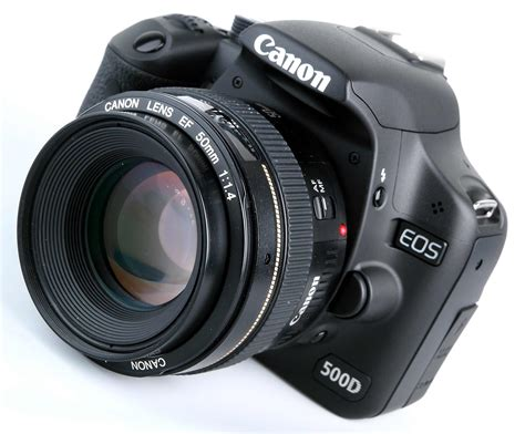 Kamera Canon Dslr 500d canon eos 500d look digital slr review