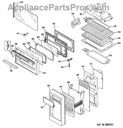 Ge Countertop Stove Parts by Parts For Ge Jmt1901 Microwave Toaster Oven Parts Appliancepartspros