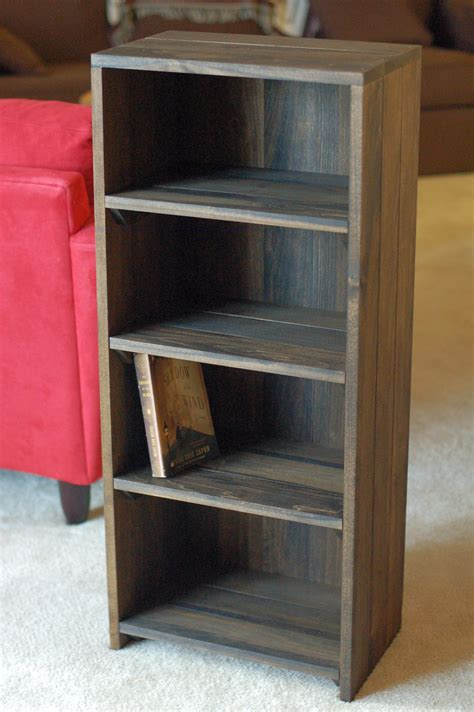 homemade bookcase happy living