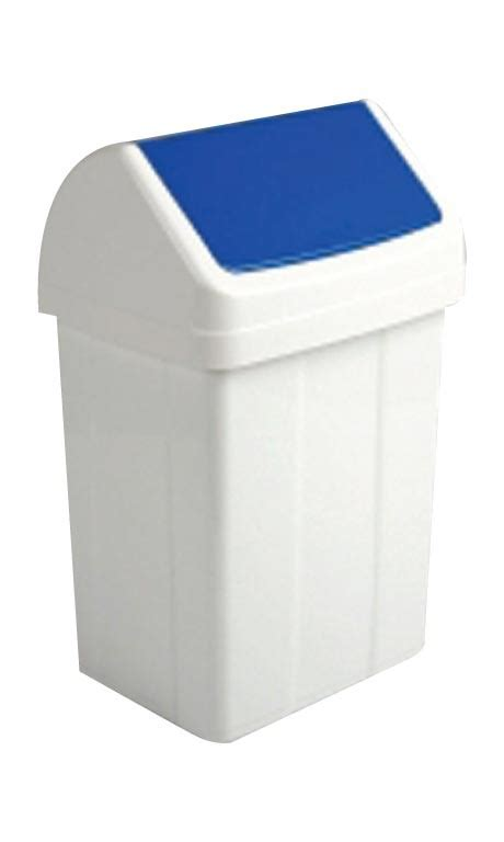 kitchen swing bins 50 litre swing bin with blue lid kitchen swing bin