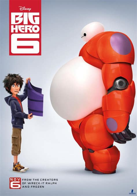 Check out this nycc trailer for disney s and marvel s big hero 6