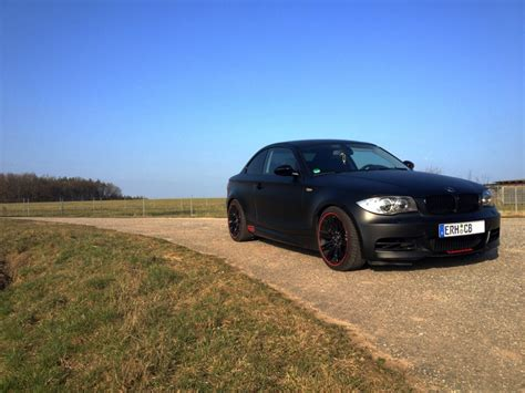 Bmw 1er Coupe Matt Schwarz by Matt Black Coupe 1er Bmw E81 E82 E87 E88