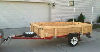Foldable Bed Frame Harbor Freight Trailer
