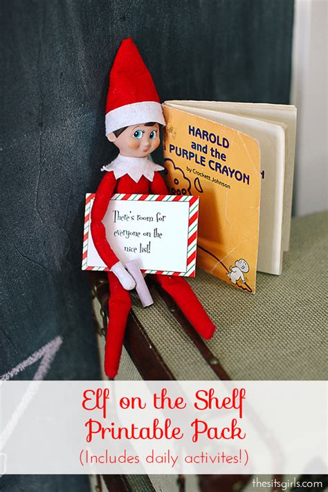On The Shelf Year by On The Shelf Ideas Printables Survival Guide