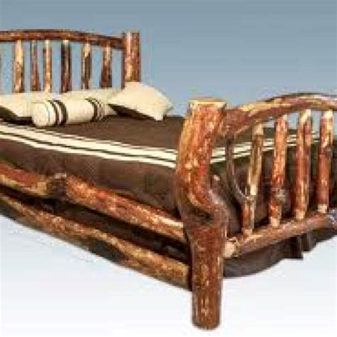 natural wood bed frame natural wood frame bed cabins treehouses and other