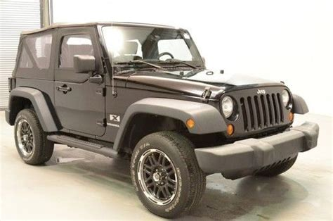 Jeep Soft Top For Sale Purchase Used 2007 Jeep Wrangler 2dr X Automatic Soft Top
