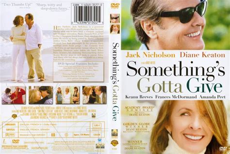 something s something s gotta give movie dvd scanned covers