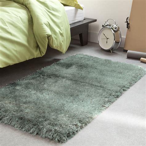 tapis descente de lit gris 60x90cm toodoo petit tapis