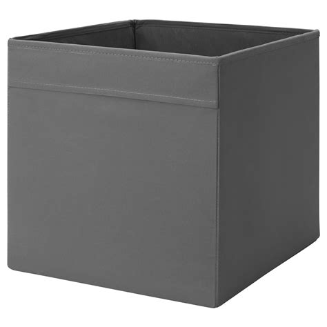 ikea storage box dr 214 na box dark grey 33x38x33 cm ikea
