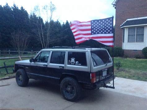 jeep cherokee american flag xjs with flags jeep cherokee forum