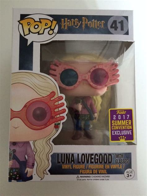 harry potter luna lovegood  glasses sdcc  funko