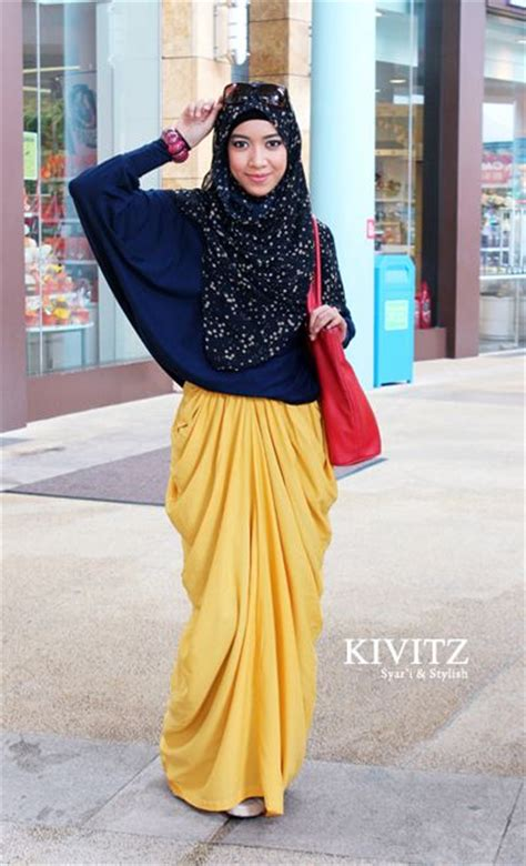 Batik Mahkota Batik Moderen Fashion Trendi 17 trend contoh baju muslim model sekarang 2015