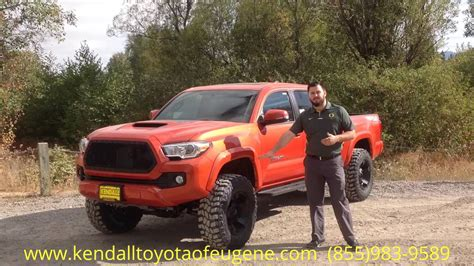 tacoma long bed 2017 toyota tacoma trd sport long bed youtube
