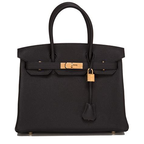 Hermes Black hermes birkin bag 30cm black togo gold hardware world s best