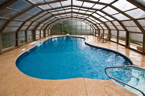 enclosed swimming pools cranbury pool builder luxury pools nj swimming pool photos