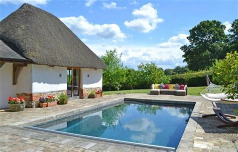 Cottages With Outdoor Pools by Whiteshoot Farm Luxury New Forest Cottage With Swimming Pool