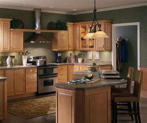 natural kitchen cabinets natural maple kitchen cabinets homecrest cabinetry