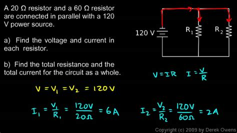 resistors in parallel exle problems physics 13 4 2e parallel circuit exle