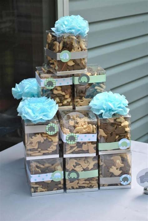 Baby Boy Elephant Themed Baby Shower by 22 Low Cost Diy Decorating Ideas For Baby Shower