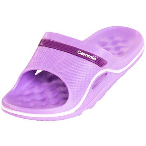 flip flop house slippers womens cushion slip on sandals slides house shoes flip flop water shower slipper ebay