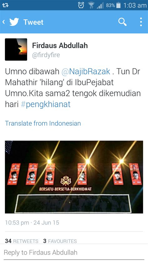 jahat sungguh portal pembangkang dan pro tun kenyataan kl chronicle pengkhianat malaysiakini cuba menipu dan