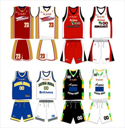 contoh desain jersey basket crossover jersey co desain jersey ibl 2006
