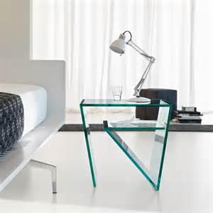 zen glass nightstand contemporary bedroom furniture
