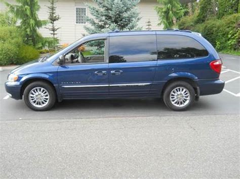 2001 chrysler town and country for sale 2001 chrysler town and country for sale carsforsale