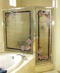 stained glass shower door stained glass overlay material specifications mylar