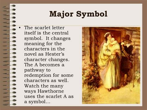 important themes of the scarlet letter scarlet letter