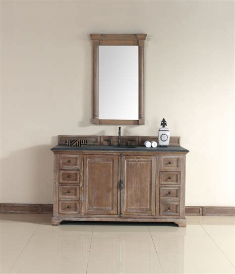 driftwood bathroom vanity 60 inch single sink bathroom vanity in driftwood finish