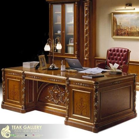 desain meja kerja minimalis meja kerja home office minimalis modern colonial office