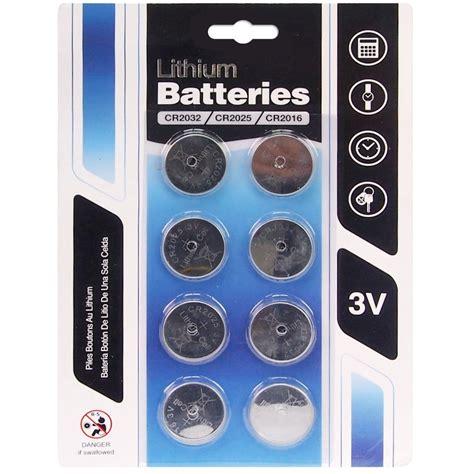cr cr cr  lithium  button cell