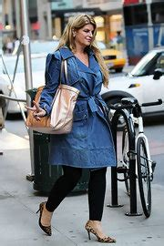 Gold Coat From Kirsty by Kirstie Alley Oversized Bags Kirstie Alley Fashion