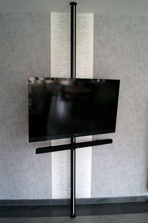 Fernseher An Der Decke Befestigen by Tv Wand Ohne Bohren M 246 Bel Design Idee F 252 R Sie Gt Gt Latofu