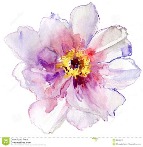 flower watercolor search inspiration