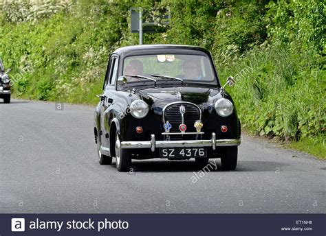 small cars black austin a35 black classic small british saloon car 1957 4