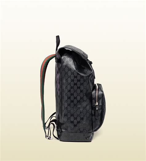 Backpack Gucci Gd 1 gucci 500 by gg imprim 233 backpack in black for lyst