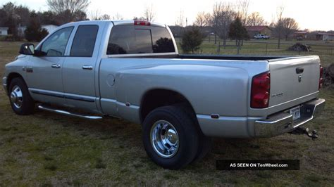 6 Door Dodge Truck by 2007 Dodge Ram 3500 Slt Crew Cab 4 Door 6 7l