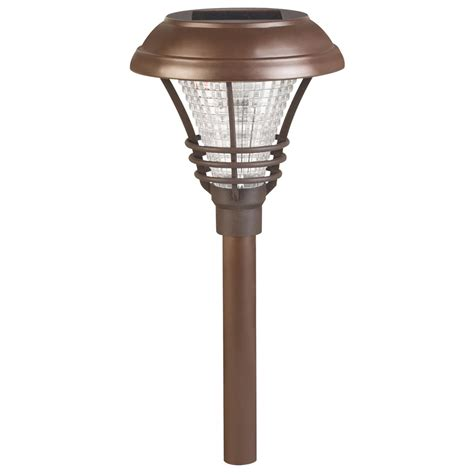 Solar Sconces illuminating your garden with solar path lighting