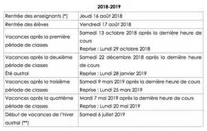 Calendrier B Calendriers Scolaires Semaines A B Lyc 233 E Antoine Roussin