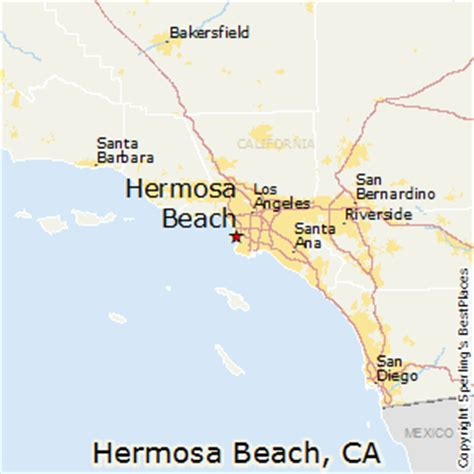 california map hermosa best places to live in hermosa california
