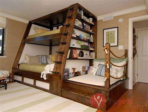 wonderful ideas  triple bunk beds   kids