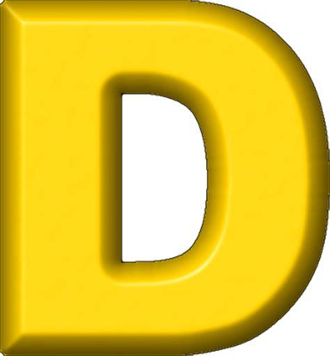 d d presentation alphabets yellow refrigerator magnet d