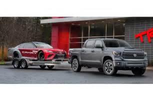 Toyota Thundra 2018 Toyota Tundra Sequoia Refreshed Debut New Trd Sport