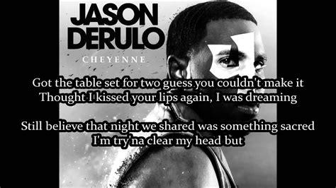 jason derulo cheyenne lyrics jason derulo cheyenne karaoke no backing vocal