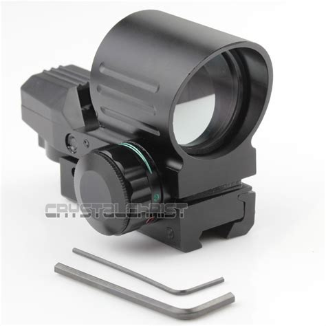 Reflex Sight Green Dot Scope Tactical 11mm Picatinny Rail tactical holographic scope 4 type reflex green dot sight 11mm rail sight holographic