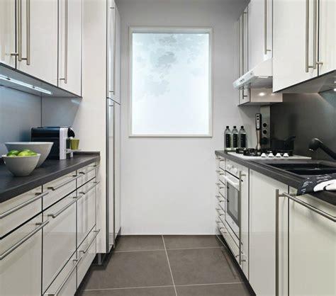cocina de lineas paralelas imagenes  fotos